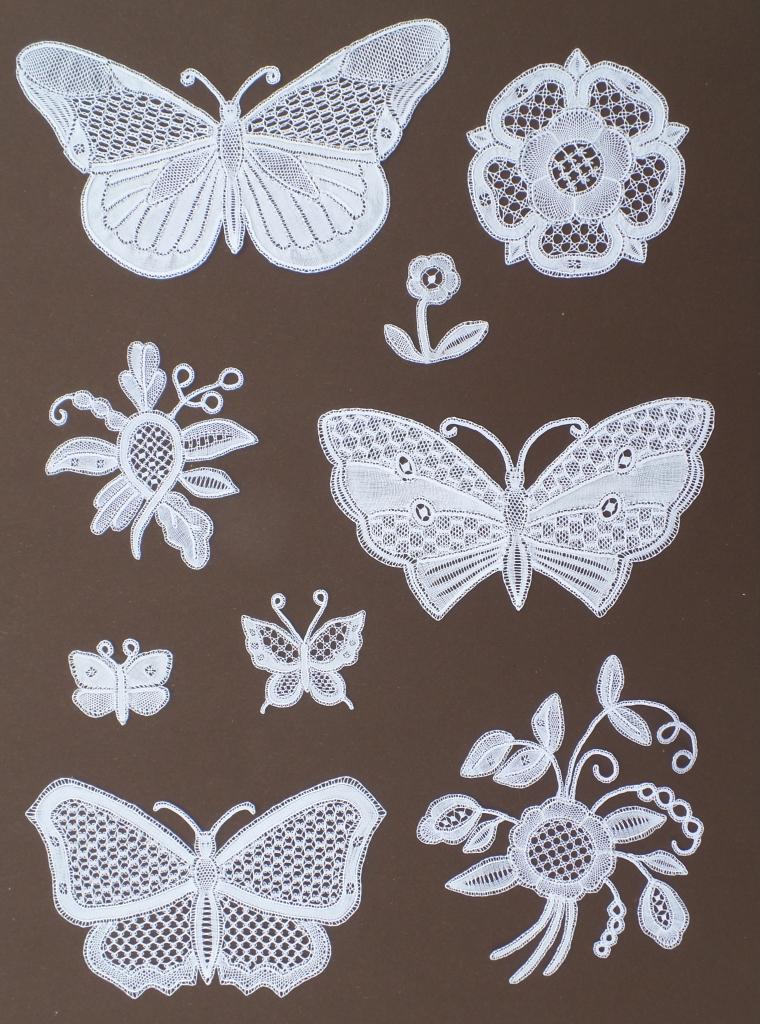 Kloeppeln_Schmetterlinge